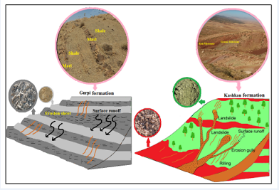 Erodibility and sedimentation potential of marly formations at the watershed scale