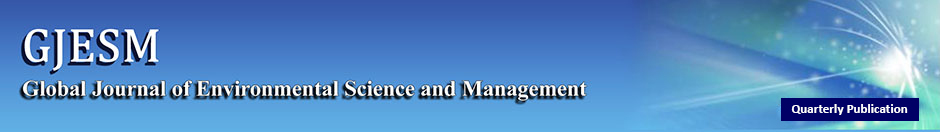Global Journal of Environmental Science and Management